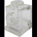LEGO Transparent Brick 1 x 1 with Headlight and Slot (30069)