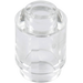 LEGO Transparent Brick Round 1 x 1 with Open Stud with Open Stud (3062 / 30068 / 35390)