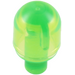LEGO Transparent Bright Green Light Cover 1 x 1 x 1.667 with Bar (28624 / 58176)