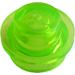 LEGO Transparent Bright Green Plate 1 x 1 Round (30057 / 34823)