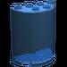 LEGO Transparent Dark Blue Cylinder 2 x 4 x 4 (6259)