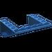 LEGO Transparent Dark Blue Slope 5 x 6 x 2 (33°) Inverted