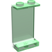 LEGO Transparent Green Panel 1 x 2 x 3 without Side Supports, Solid Studs (30009)