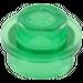 LEGO Transparent Green Plate 1 x 1 Round (30057 / 34823)