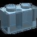 LEGO Transparent Hellblau Backstein 1 x 2 (3004)