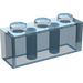 LEGO Transparent Light Blue Brick 1 x 3 (3622 / 45505)