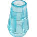 LEGO Transparent Light Blue Cone 1 x 1 with Top Groove (28701 / 64288)