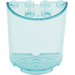 LEGO Transparent Light Blue Cylinder 2 x 4 x 4 (6259 / 35280)