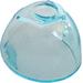 LEGO Transparent Light Blue Large Helmet Visor with Trapezoid area on top (49480 / 89159)