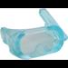 LEGO Transparent Light Blue Scuba Mask with Air Hose (30090 / 35244)