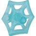 LEGO Transparent Light Blue Spider Web Small with two Bars