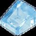 LEGO Transparent Medium Blue Slope 1 x 1 (31°) (50746)