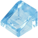 LEGO Transparent Medium Blue Slope 31° 1 x 1 (50746)