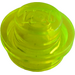 LEGO Transparent Neon Green Plate 1 x 1 Round (30057 / 34823)