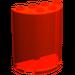LEGO Transparent Neon Reddish Orange Cylinder 2 x 4 x 4 (6259)