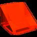 LEGO Transparent Neon Reddish Orange Slope 1 x 1 (31°)