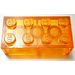 LEGO Transparent Orange Brick 2 x 4 (3001)