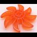 LEGO Transparent Orange Propellor 8 Blade 5 Diameter (41530)