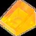 LEGO Transparent Orange Slope 1 x 1 (31°) (35338 / 50746)