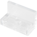 LEGO Transparent Panel 1 x 2 x 1 without Rounded Corners (15714 / 30010)