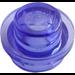LEGO Transparent Purple Plate 1 x 1 Round (30057 / 34823)