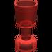 LEGO Transparent Red Minifig Goblet (30002)