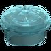 LEGO Transparent Very Light Blue Chef's Hat (3898)