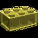 LEGO Transparent Yellow Brick 2 x 3 (3002)