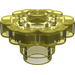 LEGO Transparent Yellow Flower 2 x 2 with Open Stud (30657)