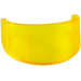 LEGO Transparent Yellow Minifig Helmet Visor (2447 / 88407)