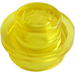 LEGO Transparent Yellow Plate 1 x 1 Round (30057 / 34823)