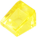 LEGO Transparent Yellow Slope 31° 1 x 1 (35338 / 50746)