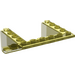 LEGO Transparent Yellow Slope 5 x 6 x 2 (33°) Inverted