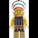 LEGO Tribal Chief Minifigure