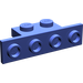 LEGO Violet Bracket 1 x 2 - 1 x 4 without Rounded Corners (2436)