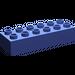 LEGO Violet Duplo Brick 2 x 6 (2300)
