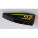 LEGO Wedge 2 x 6 Double Inverted Left with Lime and Red Stripes and Red Number 31 Pattern Sticker (41765)