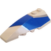 LEGO Wedge 2 x 6 Double Left with F1 Blue  and Silver (41748)