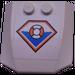LEGO Wedge 4 x 4 x 0.66 Curved with Coast Guard Symbol Sticker (45677)