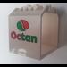 LEGO White Box 4 x 4 x 4, Decorated 'OCTAN'