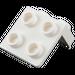 LEGO White Bracket 1 x 2 - 2 x 2 (21712 / 44728 / 92411)