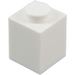 LEGO blanc Brique 1 x 1 (3005)