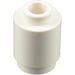 LEGO White Brick 1 x 1 Round with Open Stud (3062)