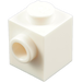 LEGO White Brick 1 x 1 with Stud on 1 Side (87087)