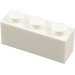 LEGO White Brick 1 x 3 (3622)