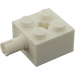 LEGO White Brick 2 x 2 with Pin and Axlehole (6232)