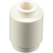 LEGO White Brick Round 1 x 1 with Open Stud with Open Stud (3062)
