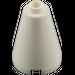 LEGO White Cone 2 x 2 x 2 (Open Stud) (3942 / 14918)