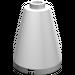 LEGO White Cone 2 x 2 x 2 (Safety Stud) (3942)