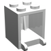 LEGO White Container 2 x 2 x 2 with Solid Studs (4345)